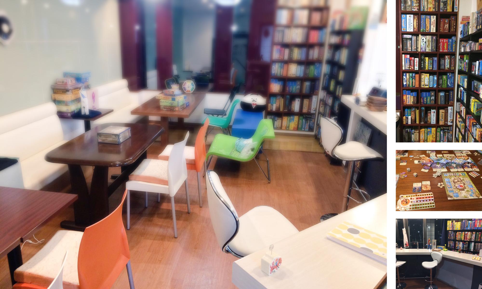 京都のボードゲームカフェ「comedy」